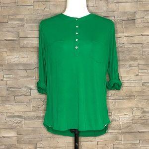 Twik green blouse